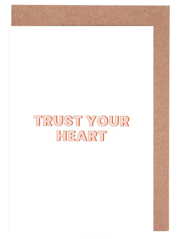 Trust Your Heart Greeting Card Set