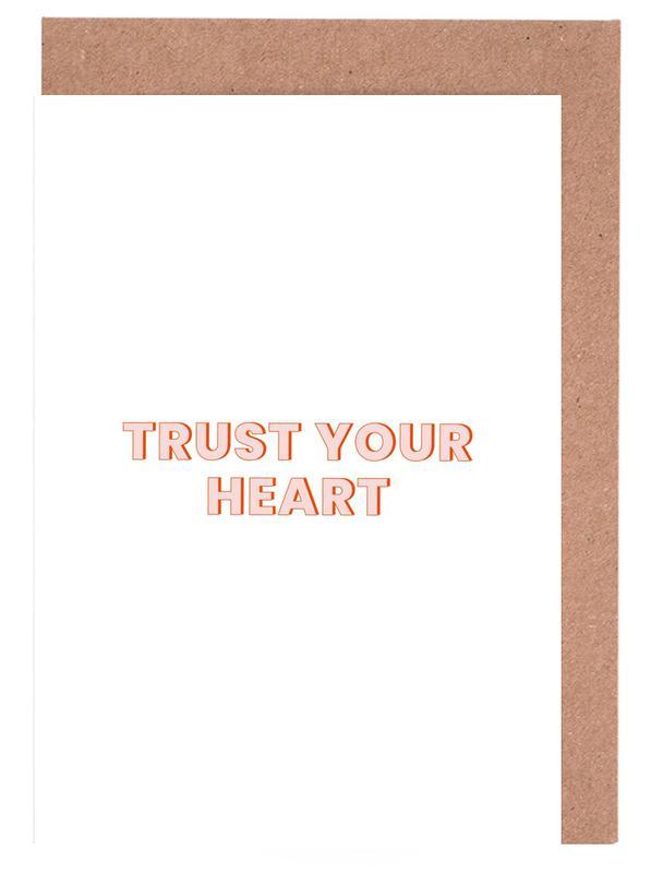 Trust Your Heart cartes de vœux