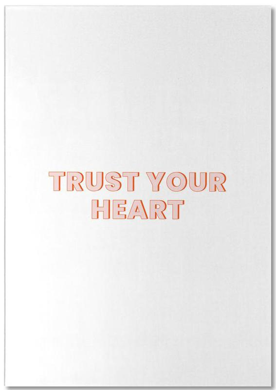 Trust Your Heart Notepad