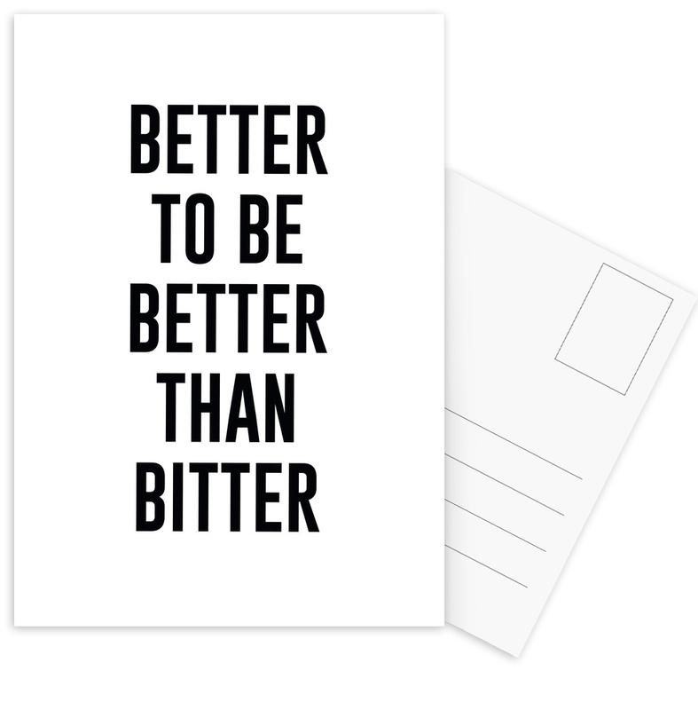 Be Better cartes postales