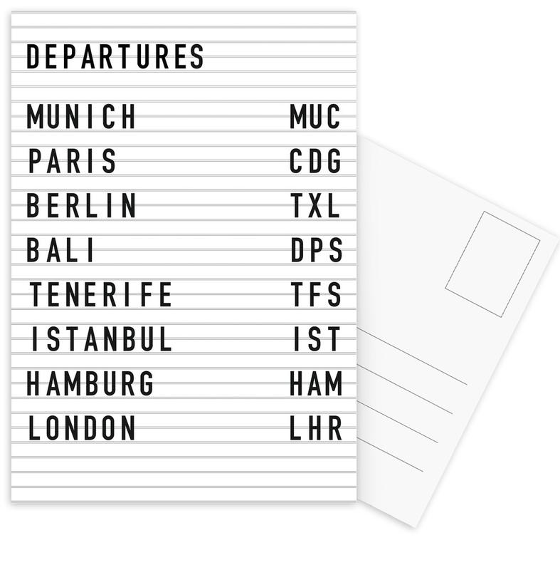 Departure Munich cartes postales