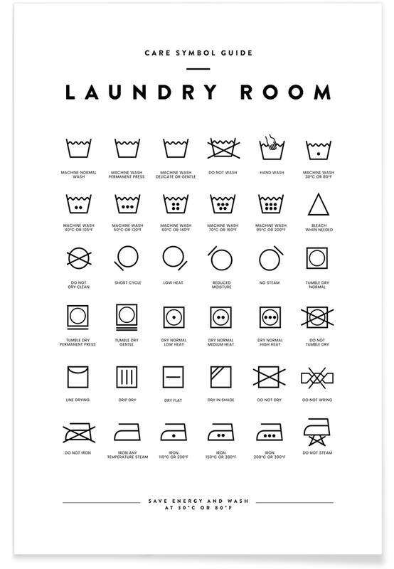Laundry Plakat