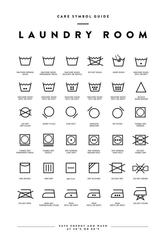Laundry -Alubild