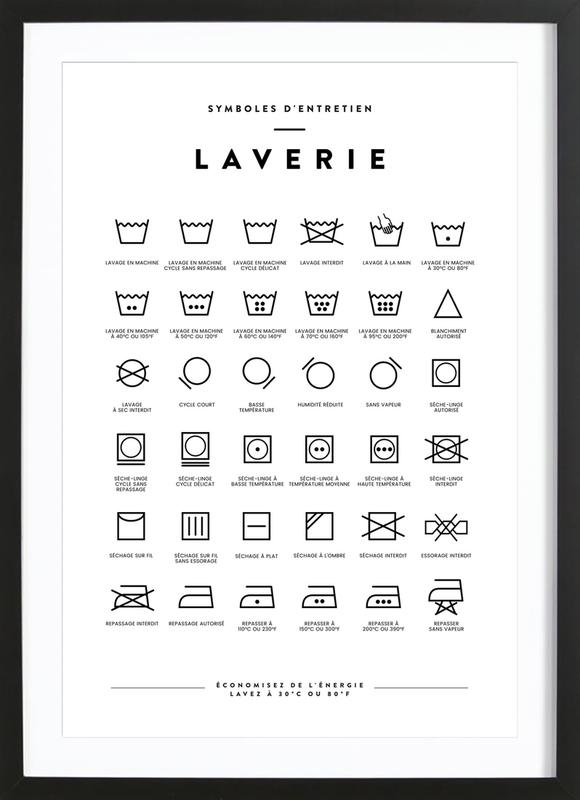 Laverie Framed Print