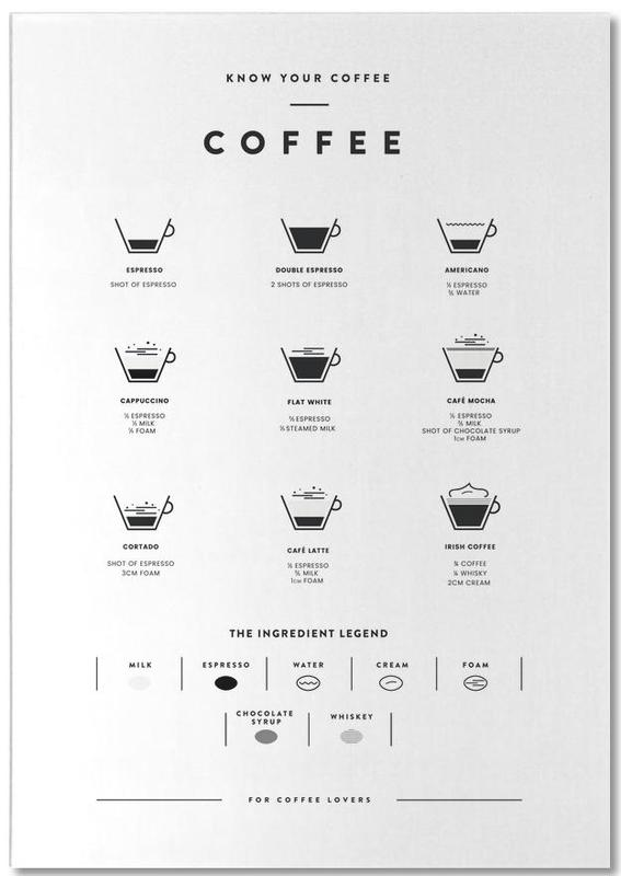 Coffee Chart bloc-notes