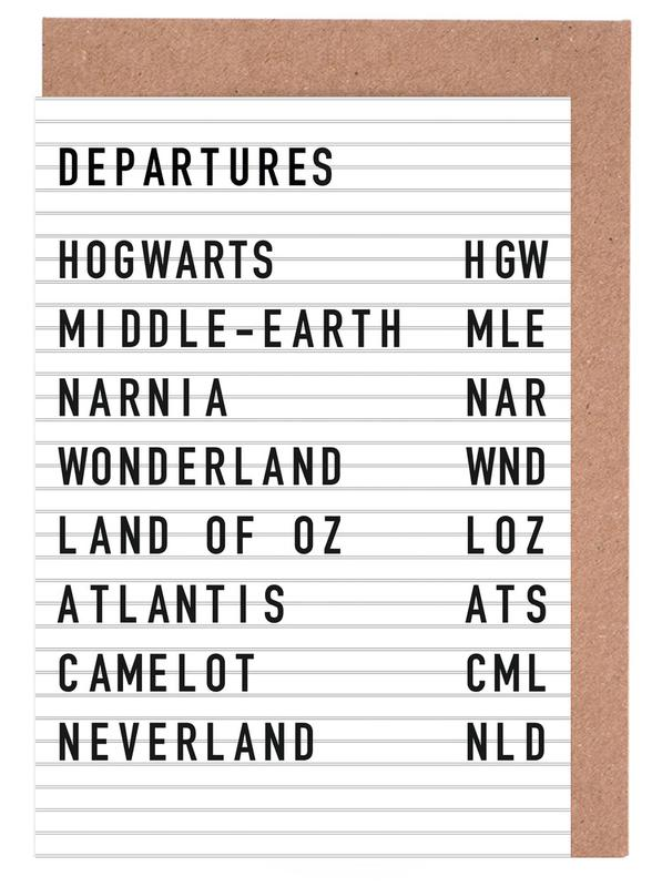 Fantasy Destinations cartes de vœux