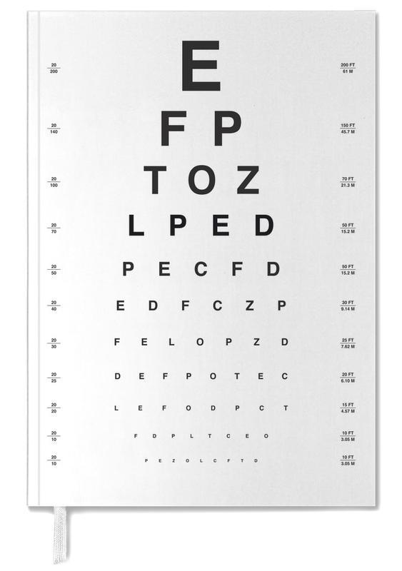 Eye Chart Personal Planner