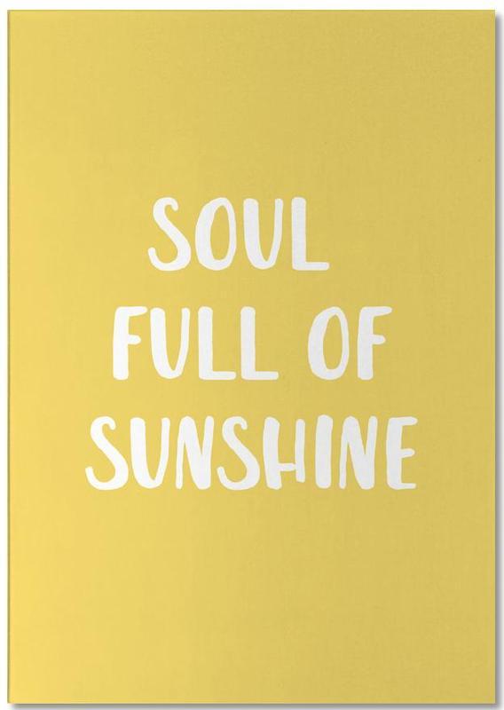 Soul Full of Sunshine -Notizblock