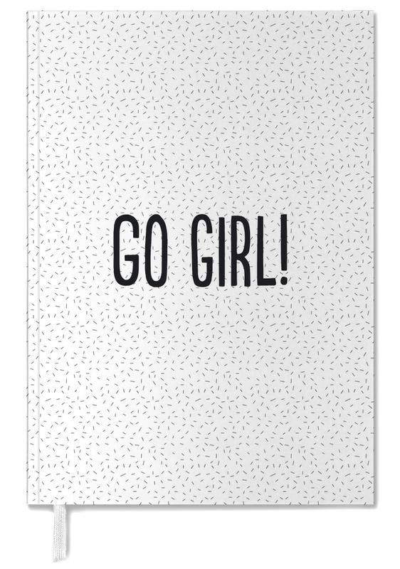 Quotes & Slogans, Motivational, Congratulations, Go Girl! Personal Planner