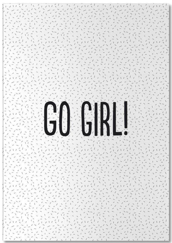 Go Girl! -Notizblock