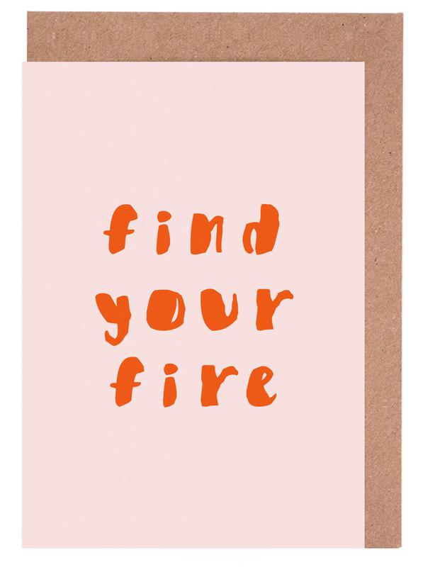 Find Your Fire Greeting Card Set