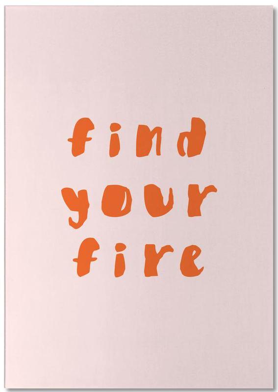 Find Your Fire -Notizblock