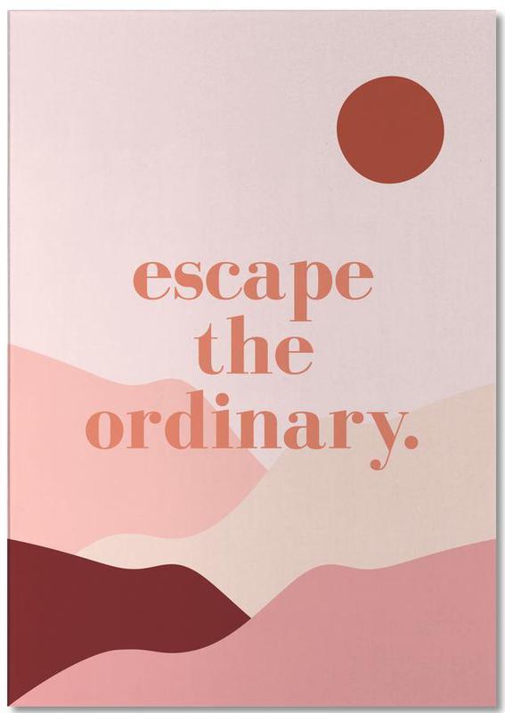 Escape the Ordinary -Notizblock