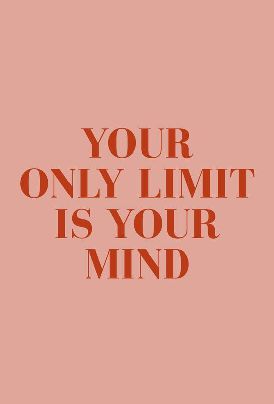 Your Only Limit -Alubild