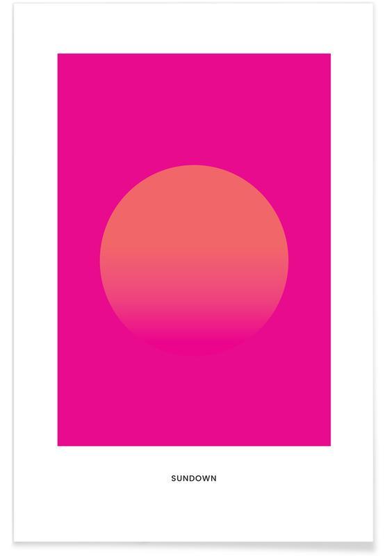 , Sundown #9 Plakat