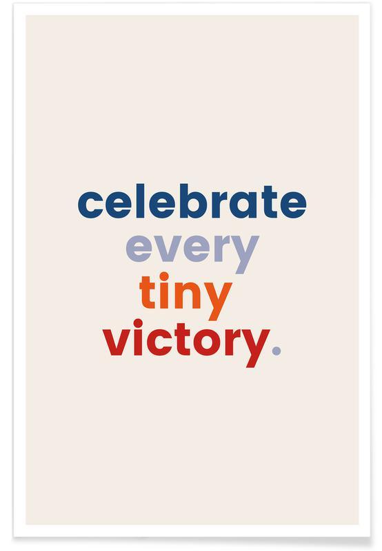 Citater & sloganer, Motiverende, Every Tiny Victory Plakat