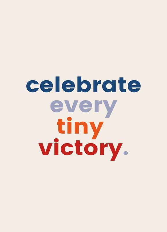 Every Tiny Victory Canvas Print