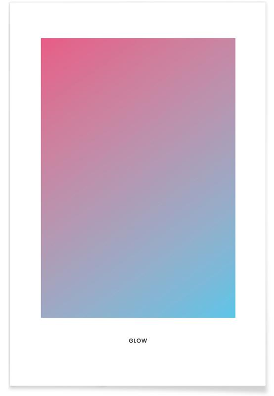 , Glow #4 Plakat