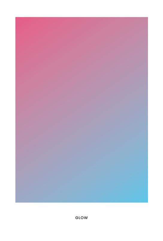 Glow #4 -Alubild