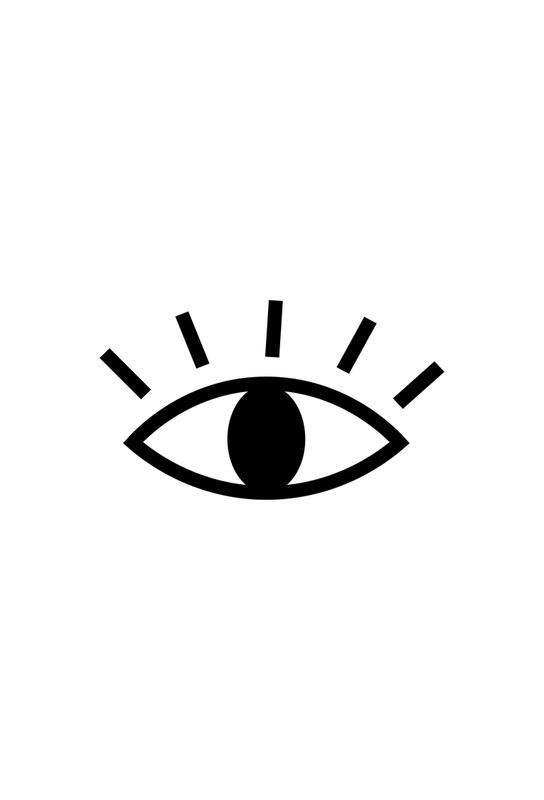 Open Eye Aluminiumtavla