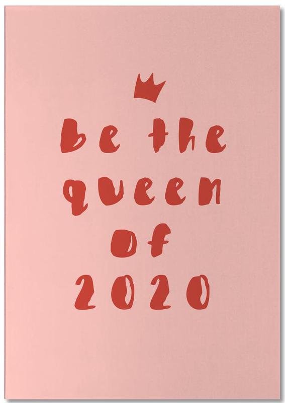 Queen of 2020 -Notizblock