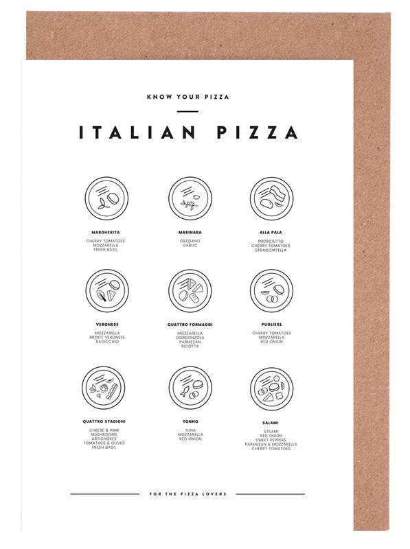 Know your Pizza cartes de vœux
