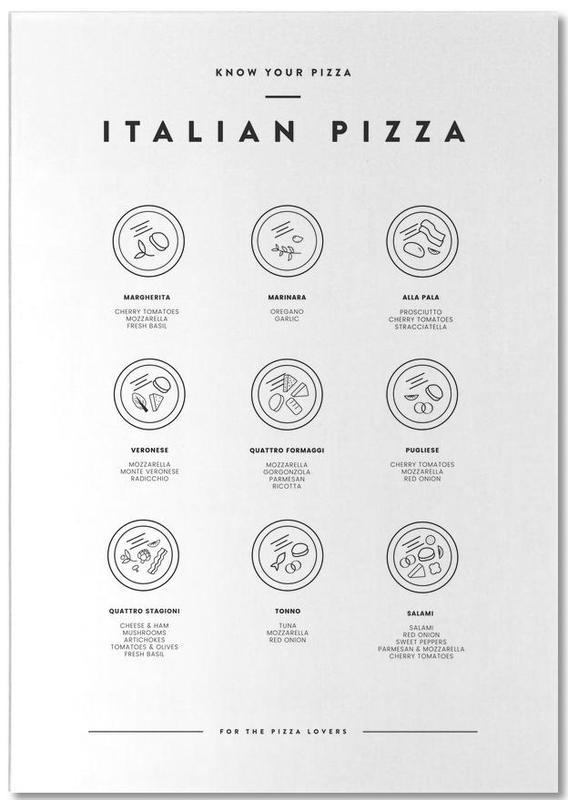 Know your Pizza -Notizblock