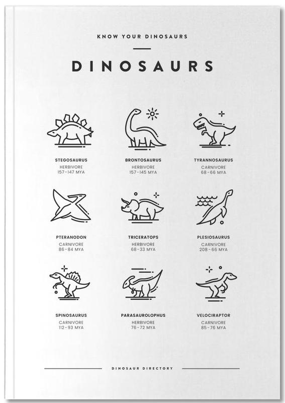 Dinosaurs chart Notebook