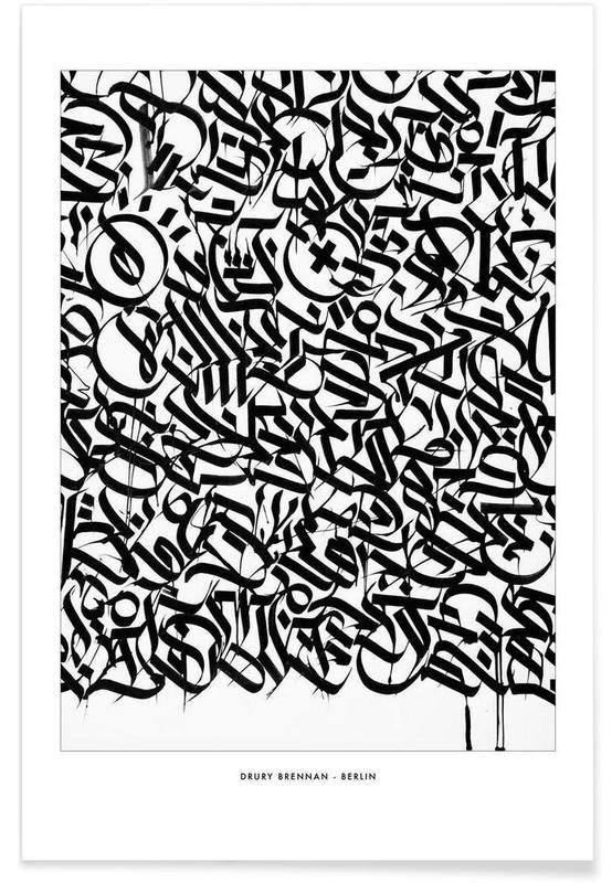 Noir & blanc, Berlin affiche