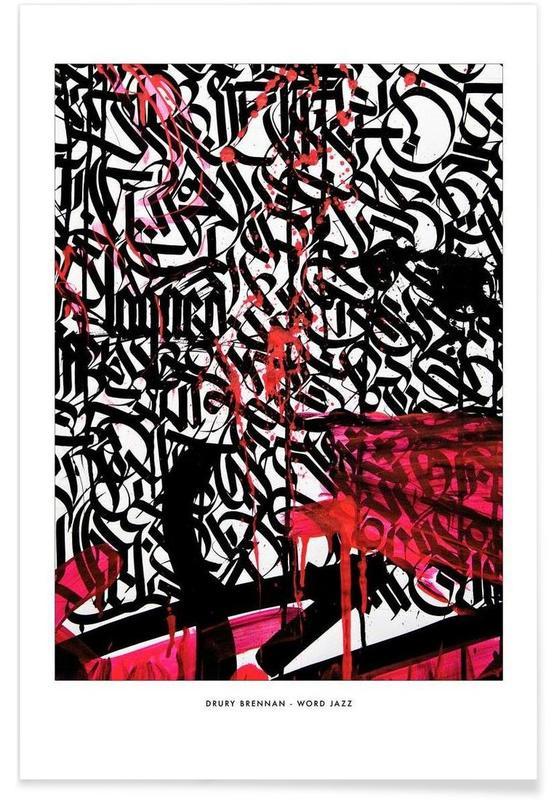 Word Jazz poster