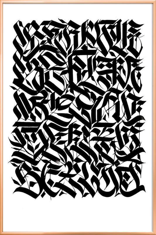 Berlin Suite poster in aluminium lijst