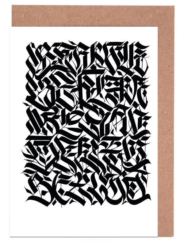 Noir & blanc, Street Art, Symboles, Berlin Suite cartes de vœux