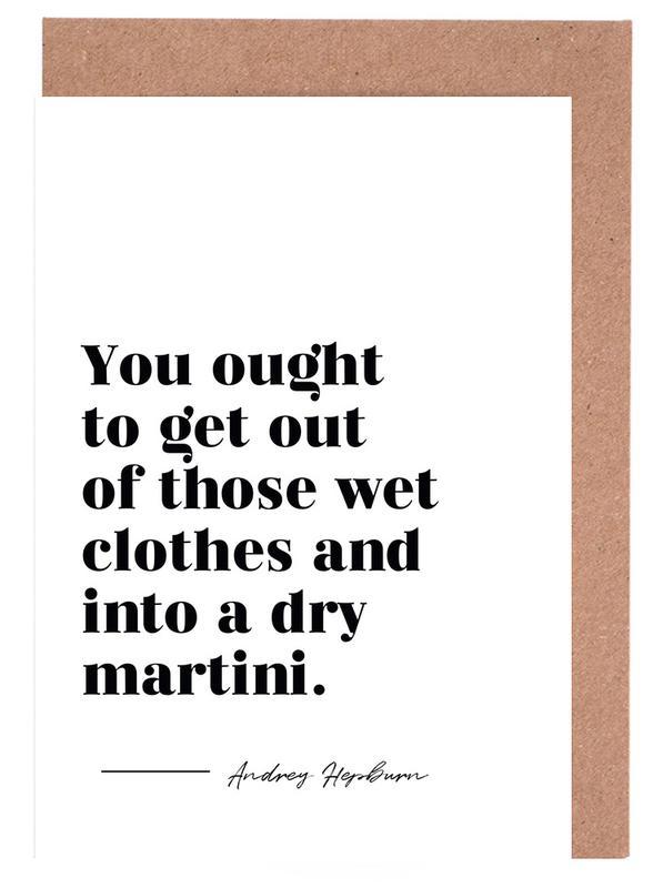 Dry Martini cartes de vœux