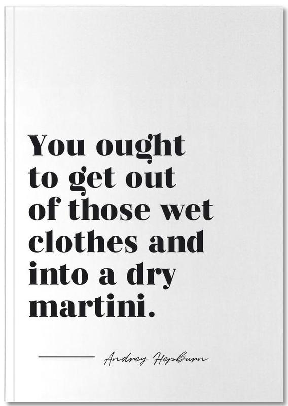 Dry Martini Notebook