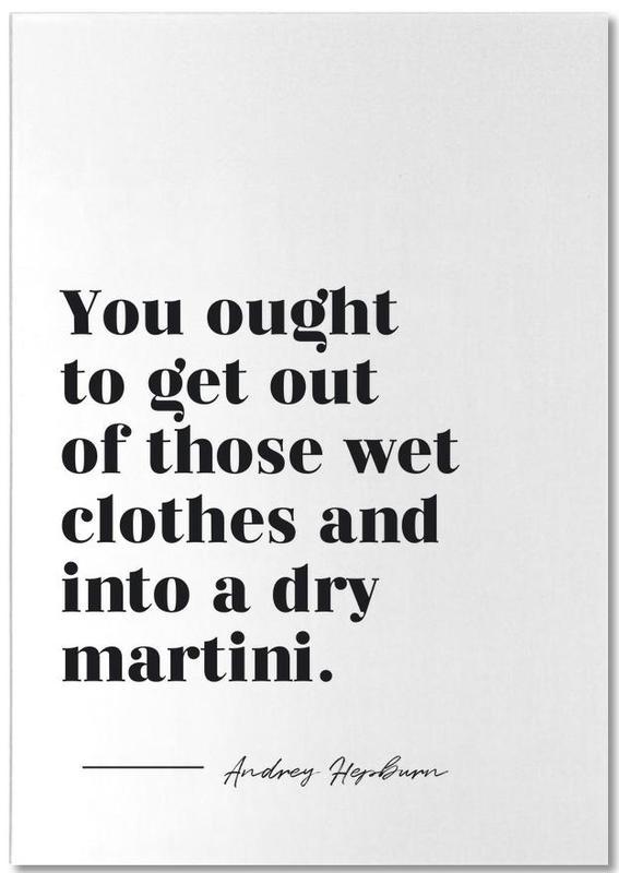 Dry Martini bloc-notes