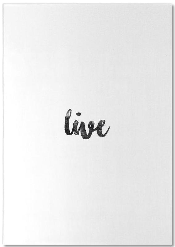 Live -Notizblock