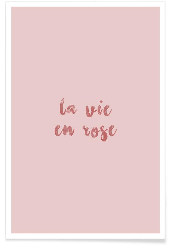 , La Vie En Rose poster