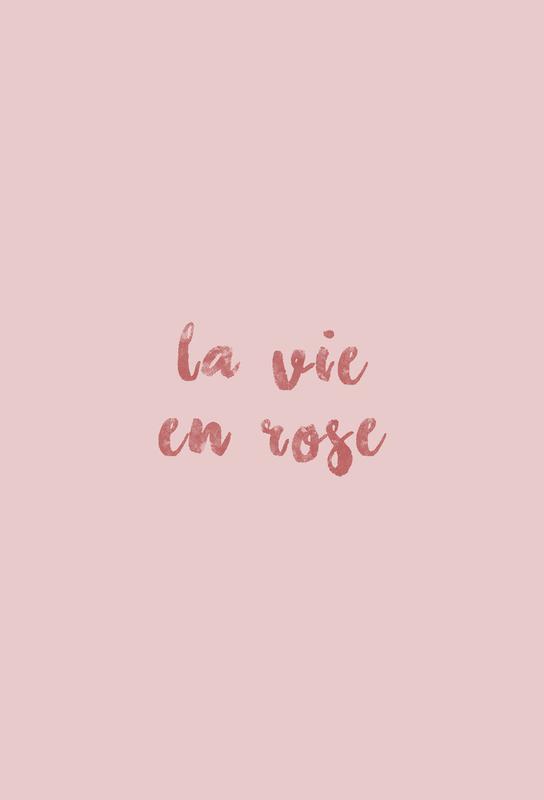 La Vie En Rose -Alubild