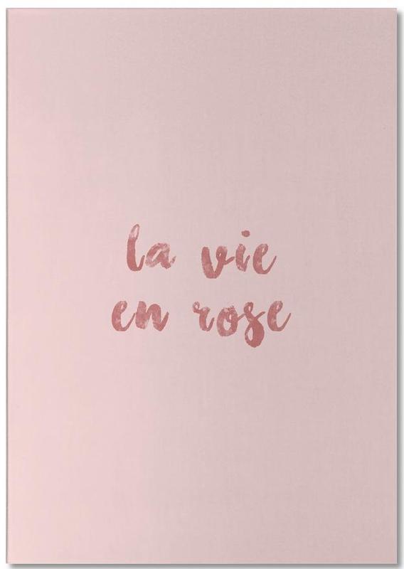 La Vie En Rose bloc-notes