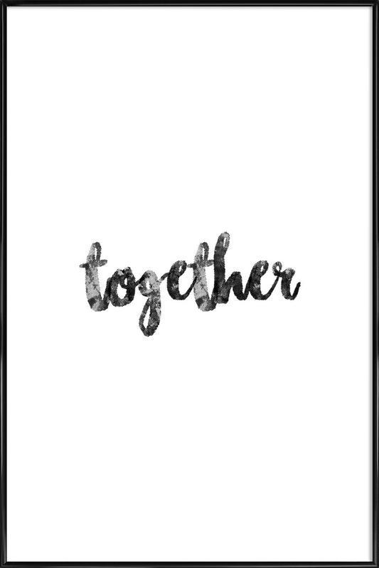Together affiche encadrée