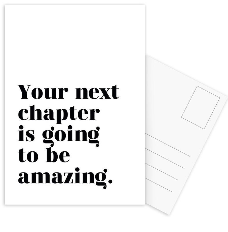 Next Chapter -Postkartenset