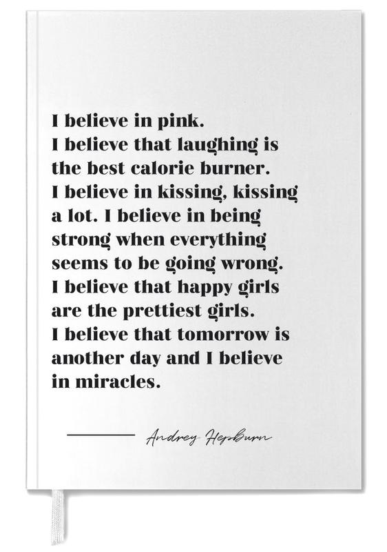 Believe in Miracles Personal Planner