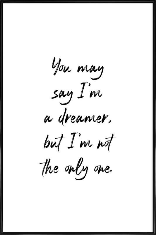 A Dreamer Poster i standardram