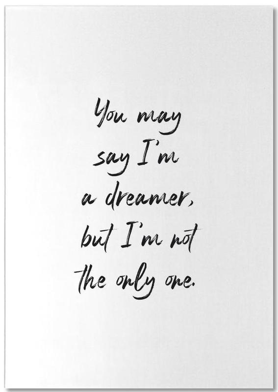 A Dreamer -Notizblock