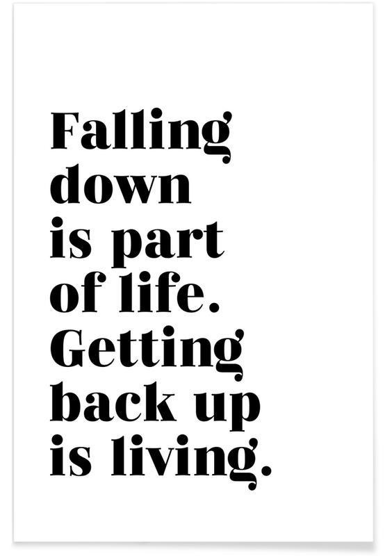 Bianco & nero, Get Back Up poster