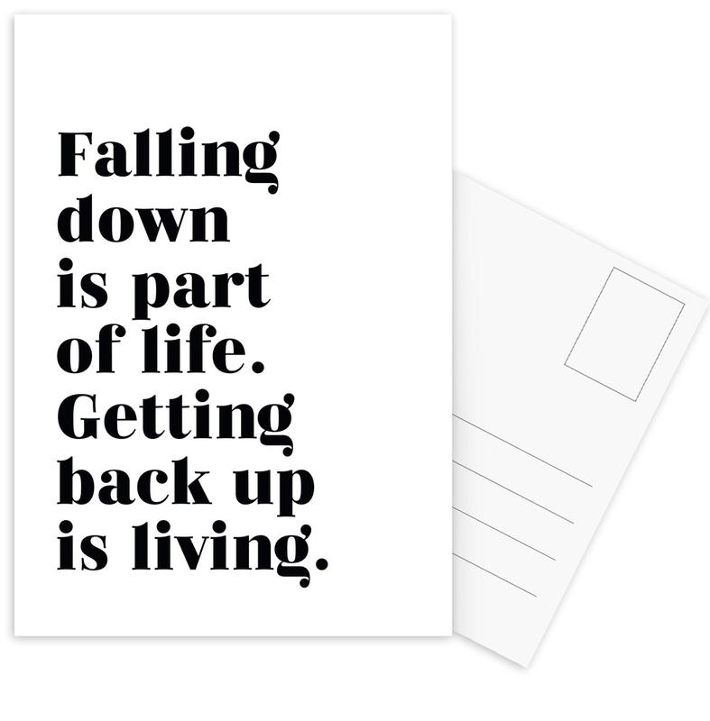 Get Back Up cartes postales