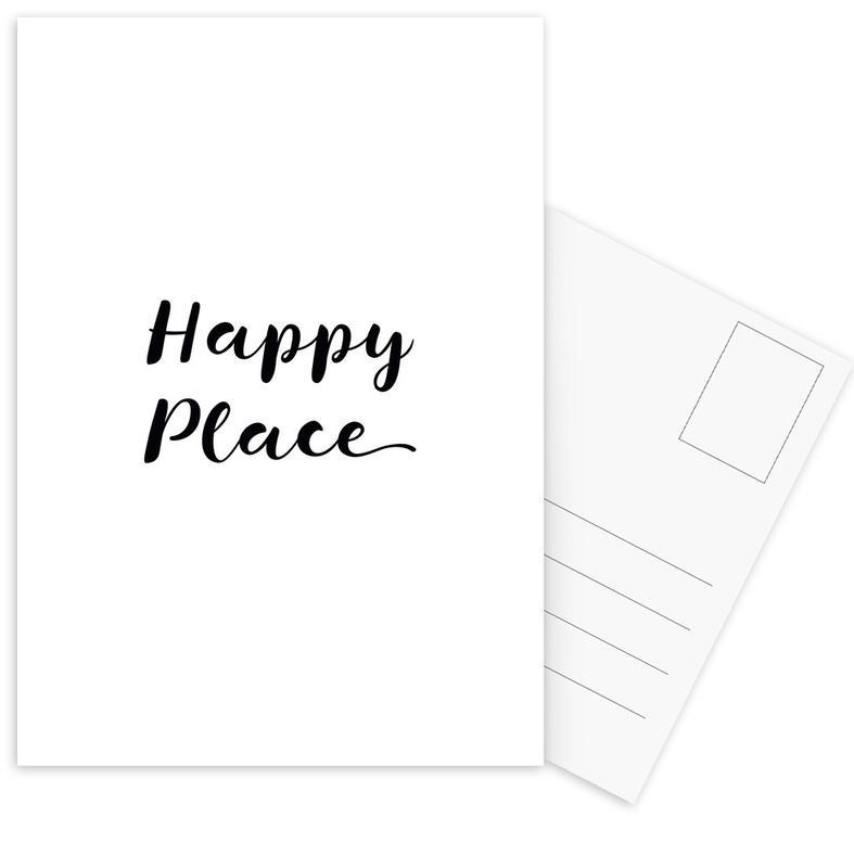 Happy Postcard Set