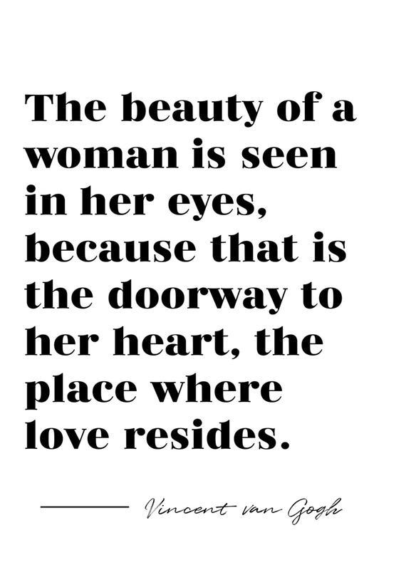 A Woman's Beauty Canvas Print