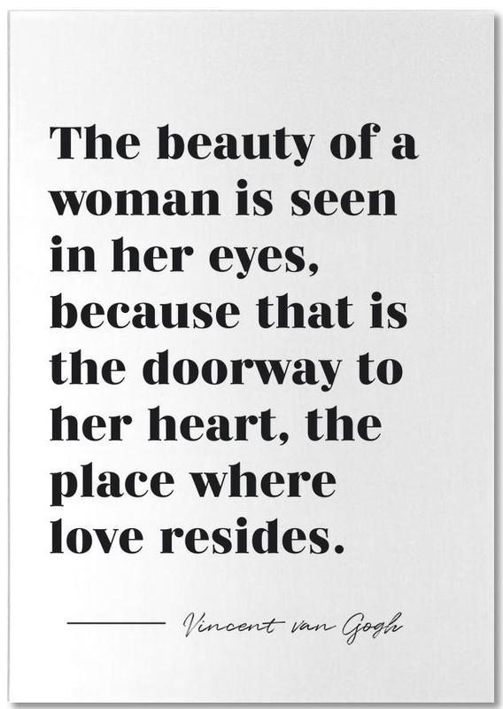 A Woman's Beauty Notepad