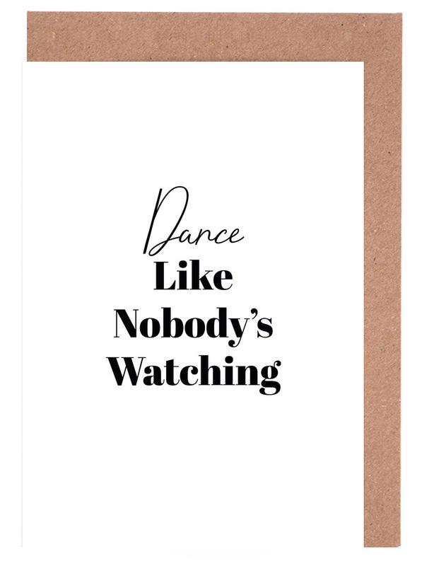 Dance cartes de vœux